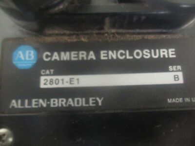 Allen Bradley Cat. No: 2801-E1 Camera Enclosure with Mount. <