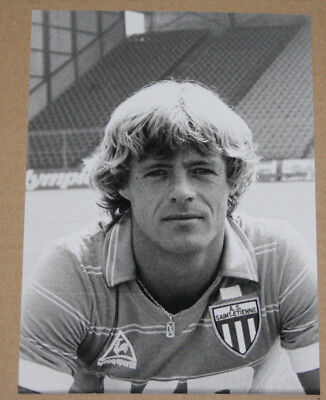 Football Photo Johnny Rep St Etienne Asse Championnat De France 1981-82
