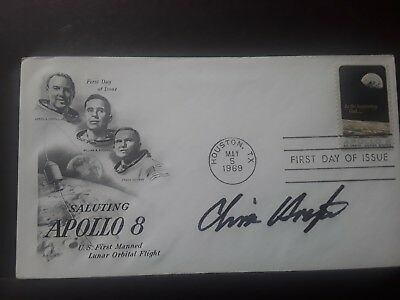 NASA Apollo 11 director Chris Kraft signed First Day Cover...