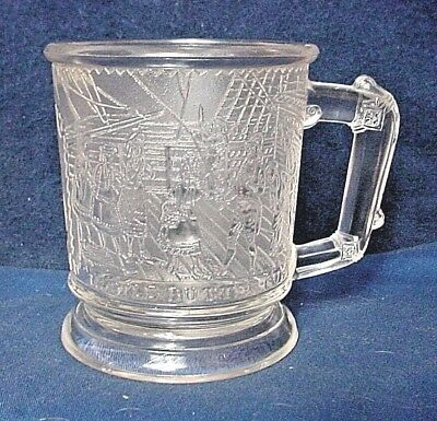 RARE Antique H.M.S. Pinafore-Little Buttercup Mug-Circa 1925