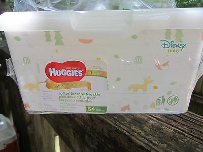 Huggies Baby Wipes Container With Pop-Up Lid Disney Baby (Empty) New