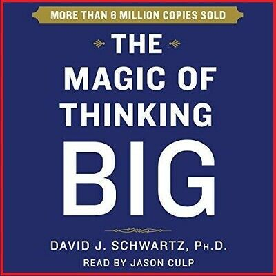 The Magic of Thinking Big by David Schwartz  (audio book, e-Delivery)