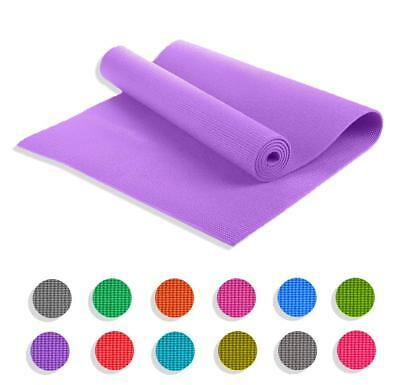Gym Exercise Thick Mat 6Mm Extra Abs For Yoga Pilates Soft Non Slip CARRY Bag Ft