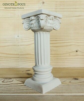 Greek Column -Statue, Greek Art, Greek Architecture, 17cm -6.69in
