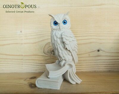 Owl Statue -Greek Mythology, Wisdom, Owl Gift -6.69in