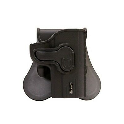 Bulldog Cases RR-1911C Rapid Release Black RH Conceal Holster Fits 1911 Compact
