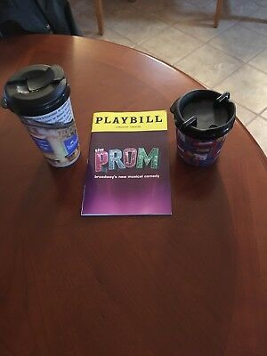 The Prom Playbill Book Broadway Theatre New York December 2018 And Collector Cup