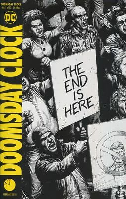Doomsday Clock (DC) 1E 2018 Frank Variant 2nd Printing NM Stock Image