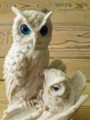 Owl Statue - Christmas Gift for baby decor, Baby Shower Gift