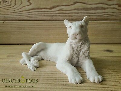 Lion Statue - White Lion King Sculpture for Decor or Gift