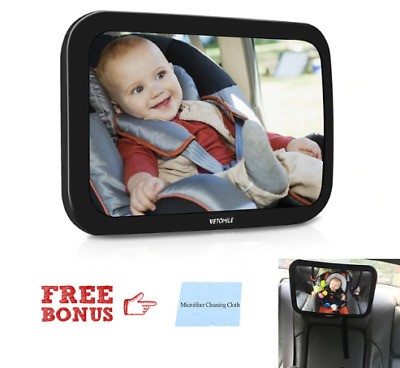 Baby Backseat Mirror for Car View Infant in Rear Facing Car Seat Accessories
