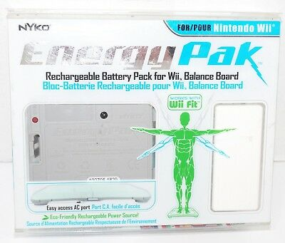 Wii Energy Rechargeable - Nyko Battery Pack For Wii Balance Board New