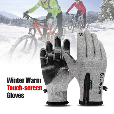 Cycling Touch Screen Gloves waterproof Jogging Skiing Hiking Running A1J0