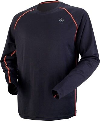 Moose XC1 Long Sleeve Base Jersey Medium Black