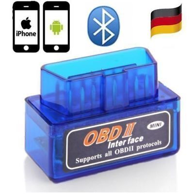 Bluetooth OBD II OBD2 ELM327 Mini Scanner CAN BUS OBDII Interface Diagnosegerät