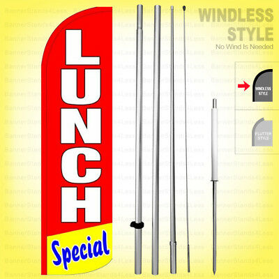 Pawn Shop Buye Sell Loan Windless Swooper Flag Kit Feather Banner Sign rq-h