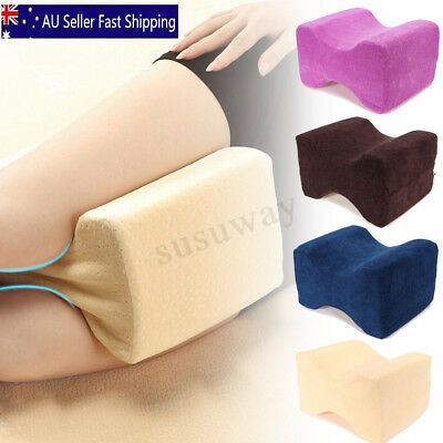 AU Memory Foam Leg Pillow Cushion Hip Knee Support Pain Relief W/ Washable Cover