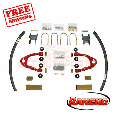 RANCHO NEW SUSPENSION Lift Kit Front & Rear for Nissan Frontier 2000