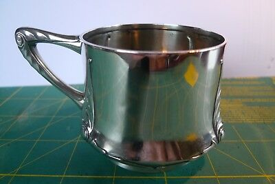 Imperial Russian Silver Pan Slavic Cup Holder By Grachev Bros. Imperial Marks.