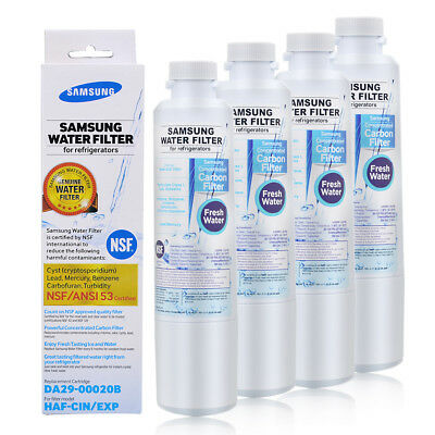 1/2/3/4/6PACK Original Samsung DA29-00020B HAF-CIN/EXP Refrigerator Water Filter