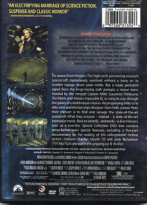Event Horizon Dvd 2006 2 Disc Set Collector S Edition New