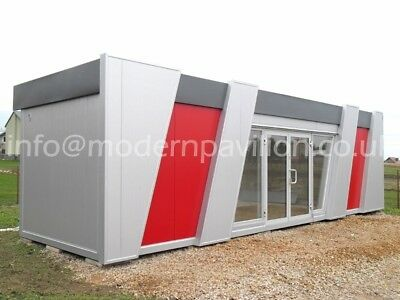 Modular Building, Portable Cabin,Panel Buildings, Showroom, Marketing Suite