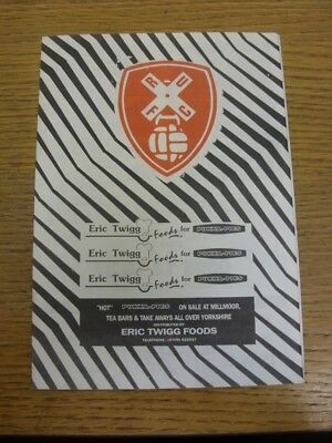 21/09/1992 Rotherham United Resevres v Manchester United Reserves  . If this ite