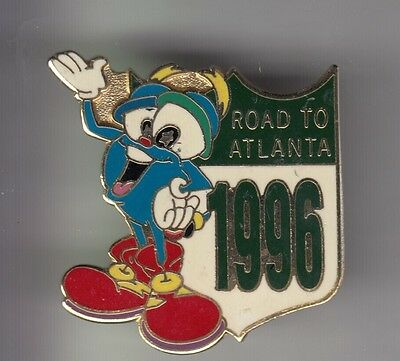 Rare Pins Pin's .. Olympique Olympic Jeux Atlanta 1996 Mascotte Route Email ~17