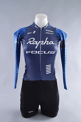 Rapha Focus Pro Team Long Sleeve Skinsuit Womens Small Cycling Bike Cross CX bc2a2e14b