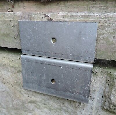 Shiplap Fence Panel Repair   Brackets.stainless Steel.x6.original Design.free Pp