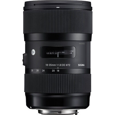 Sigma AF 18-35MM F/1.8 DC HSM Lens for Nikon Refurbished