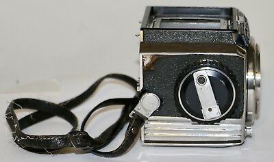Bronica S 6x6cm Camera Body Only Sold AS IS With Strap