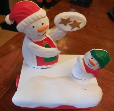 2018 Hallmark Continuity Snow Many Memories Snowmen #5: Time for Cookies NEW