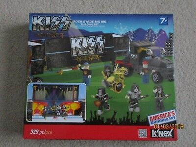 Gift New Knex Kiss Buildable Figures Series 1 Toy