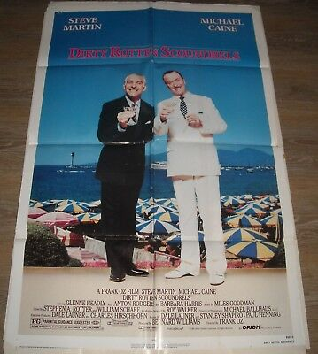 A1 A2 Dirty Rotten Scoundrels Vintage Movie Poster A3 A4 Sizes