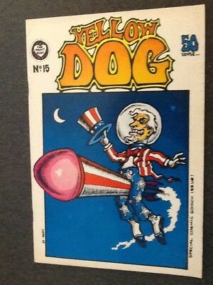 Yellow Dog #15 (1969, The Print Mint) by Various Artists. VG/Fine Condition.