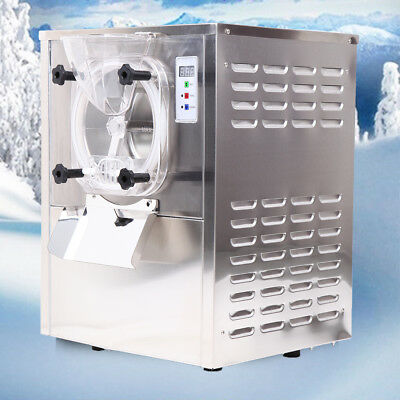 Commercial Hard Ice Cream Machine 20L/h Stainless Steel Ice Cream Maker 110V