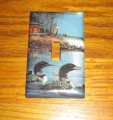 Classic Loon Loons Light Switch Cover Plate
