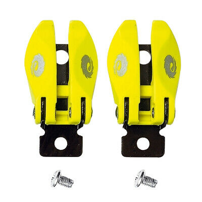 Sidi Mx St Pop Buckle Mens Boots Motocross Boot Spares - Fluo Yellow One Size