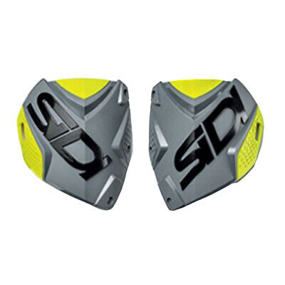 Sidi Crossfire 2 Mens Boots Shin Plate - Grey Yellow One Size