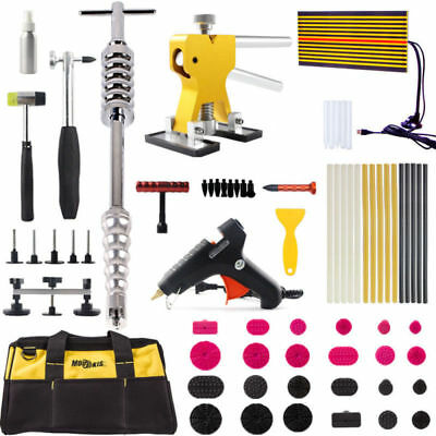 PDR Paintless Kits Dent Repair Tools Hail Removal Puller Lifter Slide Hammer DIY