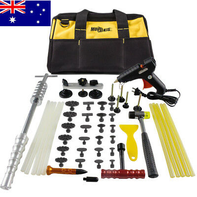 PDR Tools Dent Puller Lifter Paintless Hail Removal Auto Body Kit Slide Hammer