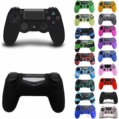 Pro Silicone Rubber Skin Cover Protector Case for Playstation 4 PS4 Controller