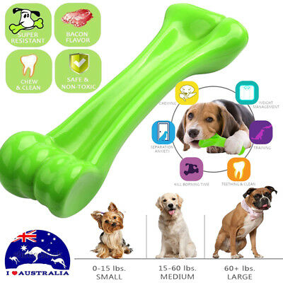 Durable Dog Chew Toys—Bone toy for Aggressive Chewers— Indestructible AU STOCK