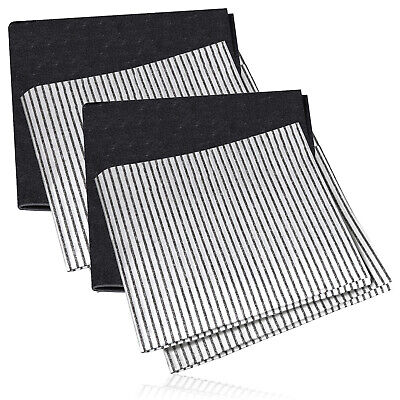UNIVERSAL Cooker Hood Filter Extractor Vent Fan Odour Grease Carbon Filters x 6