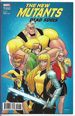 NEW MUTANTS - DEAD SOULS (2018) #1 VARIANT - Back Issue (S)
