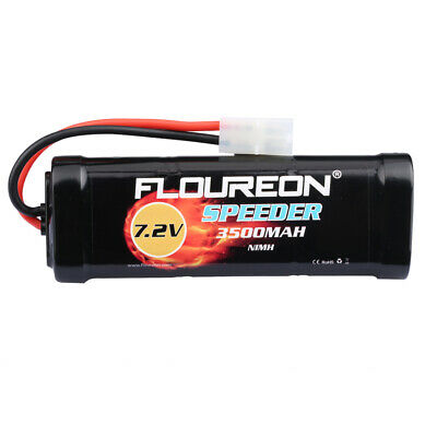 7.2V 4500mAh RC Auto AKKU Ni-MH Battery Flat Pack Female-Tamiya Plug For RC Auto