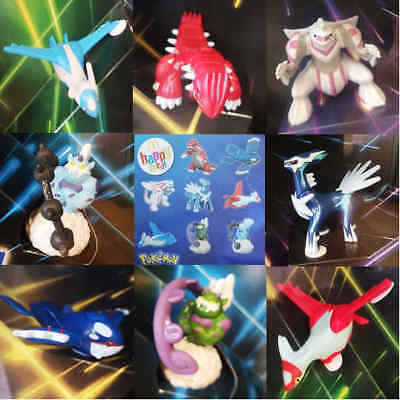 McDonalds Happy Meal Toy 2019 Pokemon + Card PRESALE Full Set of 8 Toys + Cards