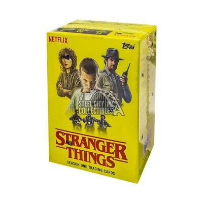 2018 Topps Stranger Things Blaster Box
