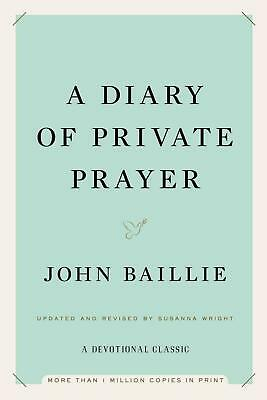 A Diary of Private Prayer by John Baillie (English) Hardcover Book Free Shipping